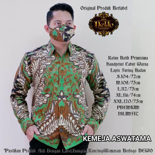 Foto Produk kemeja batik slimfit aswatama premium dari Jivan Batik
