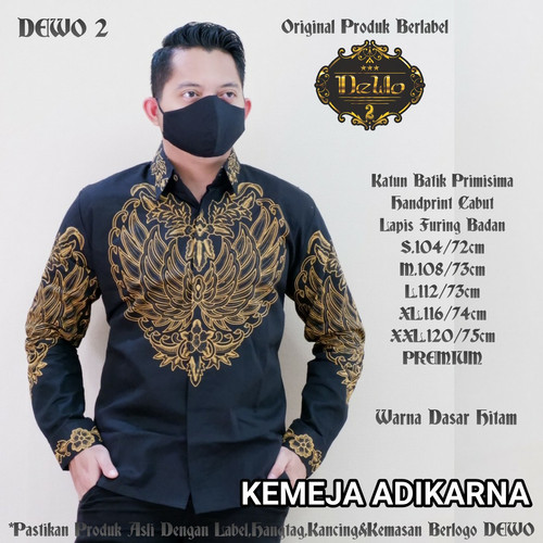 Foto Produk kemeja batik slimfit adikarna premium dari Jivan Batik