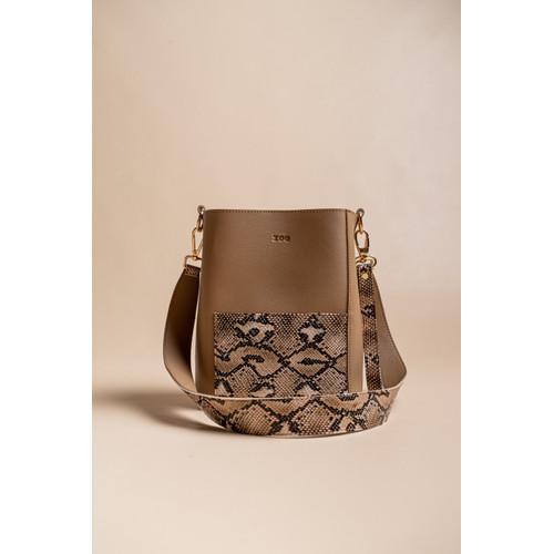 Foto Produk Bag by Zoe - Jessie Bag Kombinasi - Cokelat dari Lumiere Bag