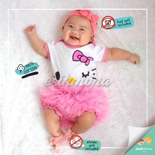 Foto Produk jumper bayi hello kitty - M, Hot Pink dari ermon baby and kids