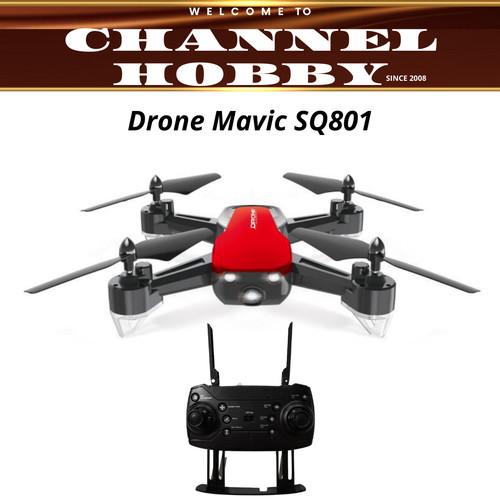 Foto Produk Drone SQ801/Drone Mavic 6 Axis Gyro Quadcopter - Merah dari Channel Hobby