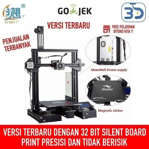 Foto Produk Creality Ender 3 Pro V-Slot 3D Printer Prusa i3 Size Besar dari 3D Zaiku