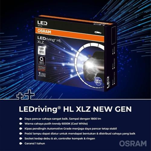Foto Produk Lampu LEDriving HL XLZ H8 / H11 / H16 LED - OSRAM dari Seraya Shop
