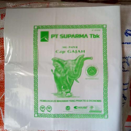 Foto Produk Kertas nasi KFC/MCD kertas wrap nasi 25x27cm burger - Merek Wa La La dari iPanda Plastik Plasindo