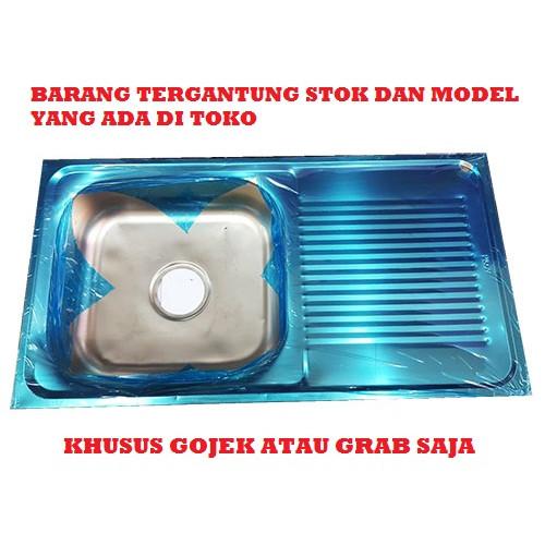 Foto Produk Bak Cuci Piring Stainless Murah dari Toko Kran Surabaya