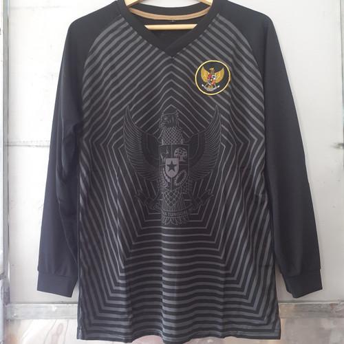 Foto Produk Jersey timNas Lengan Panjang - Hitam LS dari jersey Light Indonesia