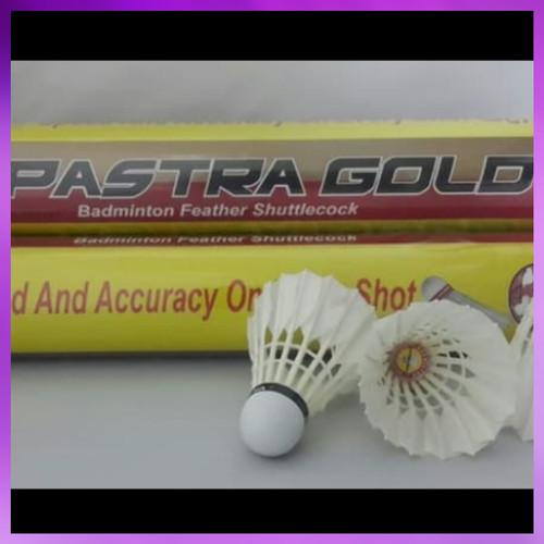 Foto Produk Kok Badminton / Shuttlecock Bulutangkis PASTRA GOLD ORI dari Ron-sport