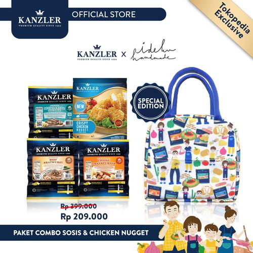 Foto Produk Paket Combo Sosis&Chicken Nugget FREE KANZLER X IDEKUHANDMADE LUNCHBAG dari Kanzler Official Store