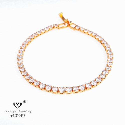 Foto Produk Gelang Lapis emas Perhiasan imitasi Gold 18k Yaxiya Jewelry 167 - PERMATA dari YAXIYA JEWELRY