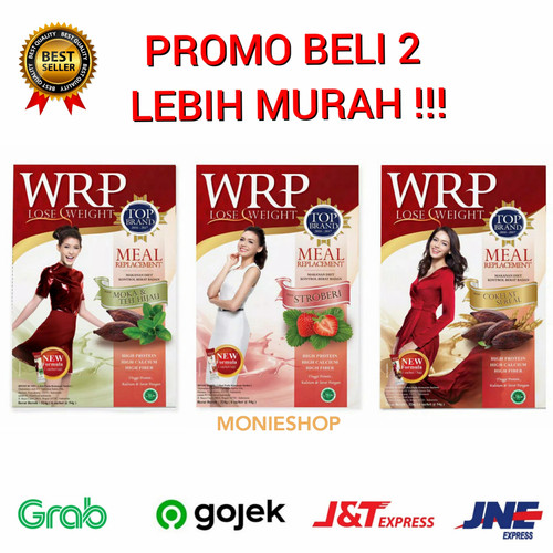 Foto Produk WRP Lose Weight Meal Replacement 6 sachet - Coklat dari MONIESHOP