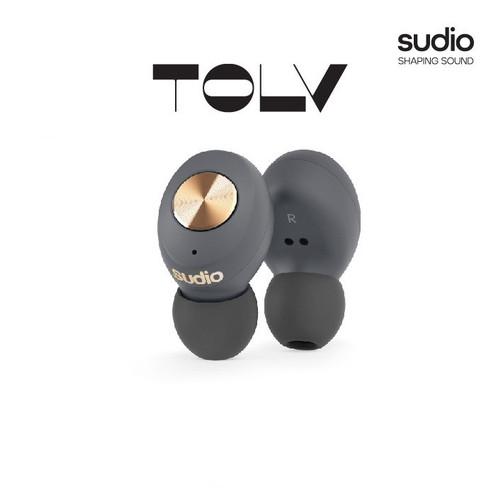 Foto Produk Sudio Tolv Anthracite / Copper - True Wireless Earbuds dari Sudio Official Store