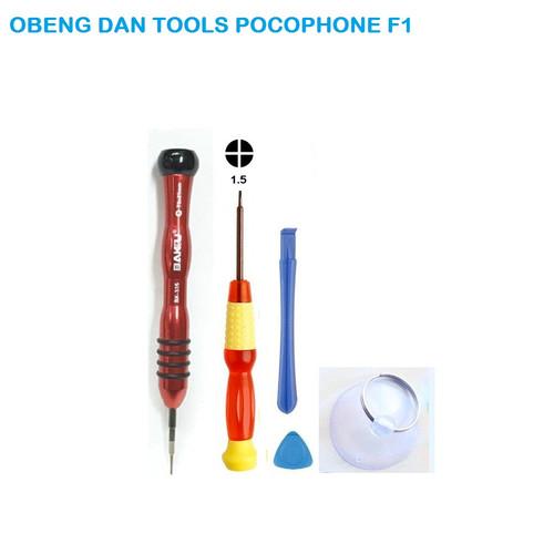 Foto Produk Obeng Pocophone F1 satu set siap bongkar casing pocophone f1 - Obeng tool saja dari SPAREPARTHP
