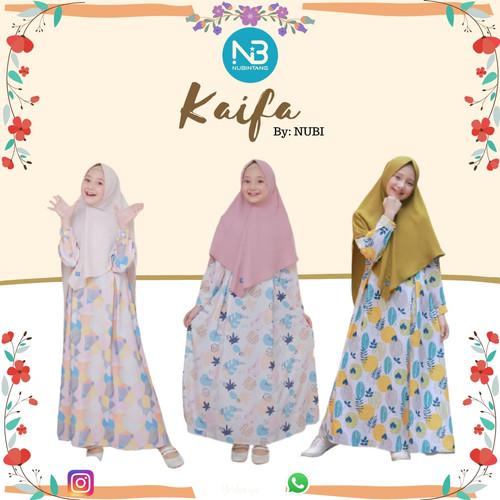 Foto Produk Gamis Anak Kaifa Set Jilbab by NuBintang dari kedai berkah