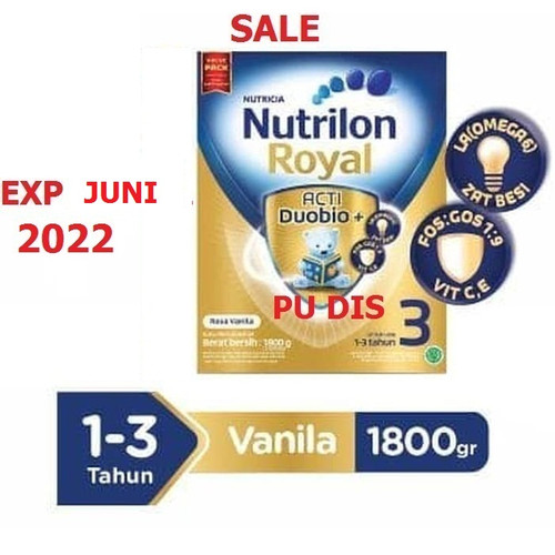 Foto Produk Nutricia Nutrilon Royal 3 Vanila 1800 gr dari PU DIS