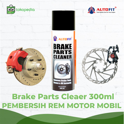 Foto Produk Autofit Brake Parts Cleaner 300ml Cairan Pembersih Part Rem dan Kanvas dari Autofit Official