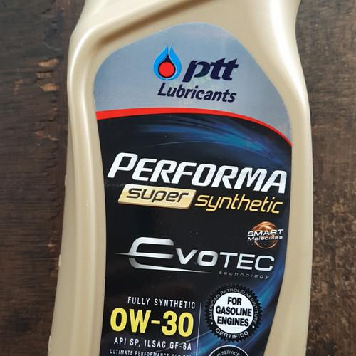 Foto Produk PTT 0W30 PERFORMA SUPER SYNTHETIC EVOTEC API SP dari td motor