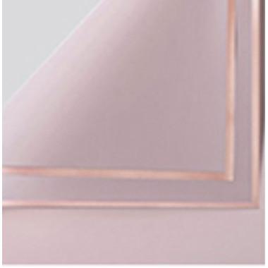 Foto Produk Kertas Bunga Wrapping Paper (PACK) - Gold Frame Cellophane - 162 PEONY dari Wood chip store