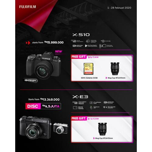 Foto Produk Fujifilm X-S10 Fuji XS10 X-S10 Body Only - Fuji XS10 TasKameraID dari taskamera-id