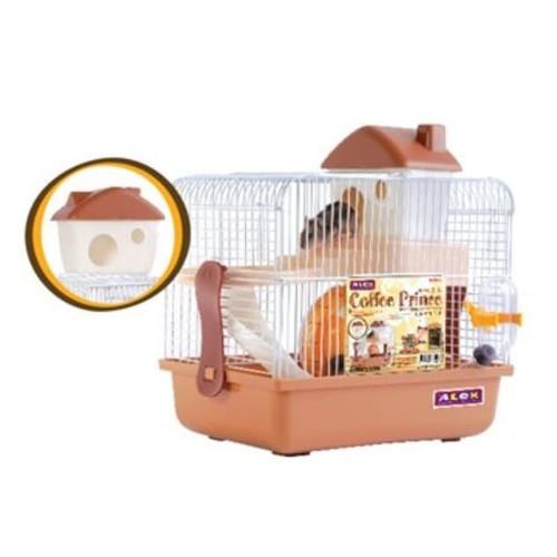 Foto Produk AL190 Alex Coffee Prince Dream House of Hamster Kandang Lengkap dari Hime petshop