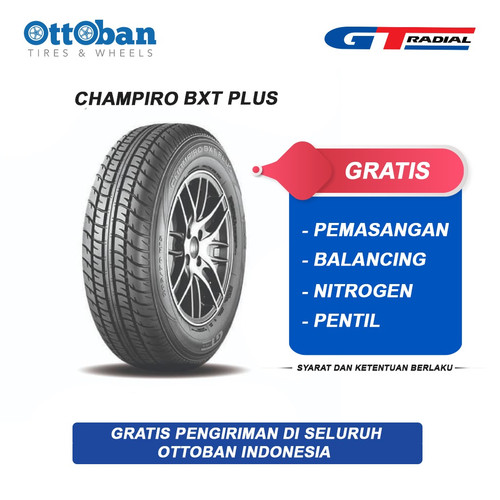 Foto Produk GT Radial Champiro BXT Plus 185/70 R14 88T Ban Mobil dari ottoban indonesia