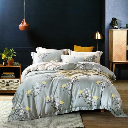 Foto Produk Sleep Buddy Set Sprei dan Bed Cover Pretty Day Tencel - King Size dari Sleep Buddy Bedding