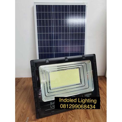 Jual Lampu Sorot Solar Cell 1000 Watt 1000w Led Sorot Solar Panel 1000w Jakarta Barat Indo Led Lighting Tokopedia