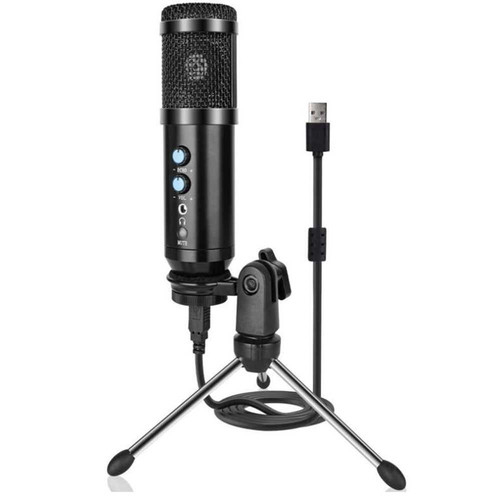 Foto Produk Mic USB Gaming MIcrophone With Tripod Stand Echo & Earphone Plug dari TWENTY MARCH