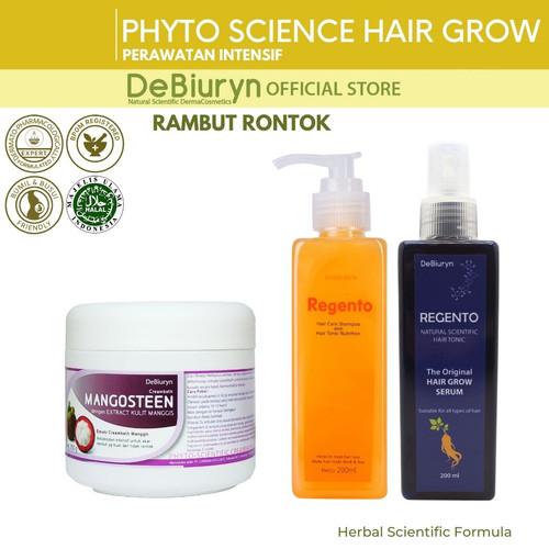 Foto Produk DeBiuryn Phyto Science Pack Hair Grow - Paket Perawatan Rambut Rontok dari Debiuryn Dermacosmetics