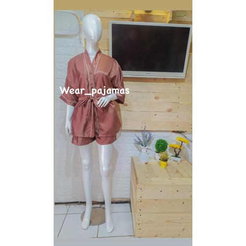 Foto Produk PIYAMA KIMONO SATIN TERMURAH dari Wear Pajamas