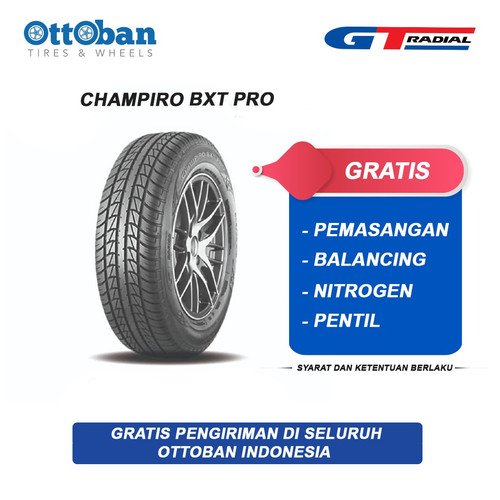 Foto Produk GT Radial Champiro BXT Pro 185/60 R15 88H Ban Mobil dari ottoban indonesia