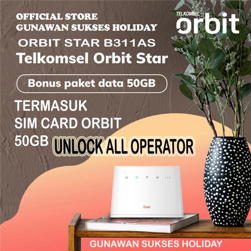 Foto Produk TELKOMSEL ORBIT Star Internet Unlimited Free 55GB - LOCK 50GB dari gunawan sukses holiday