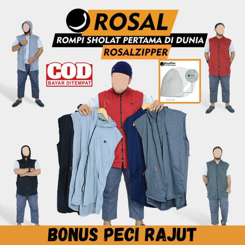 Foto Produk ROSAL Rompi Sholat Zipper M - 3XL - M dari rompi sholat id