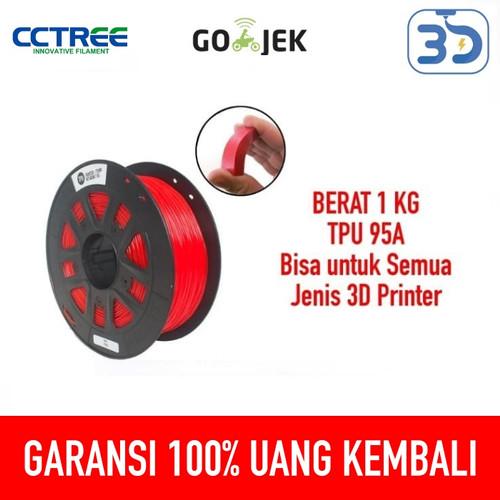 Foto Produk Flexible 3D Printer Filament Seperti Karet Premium Grade Quality dari 3D Zaiku