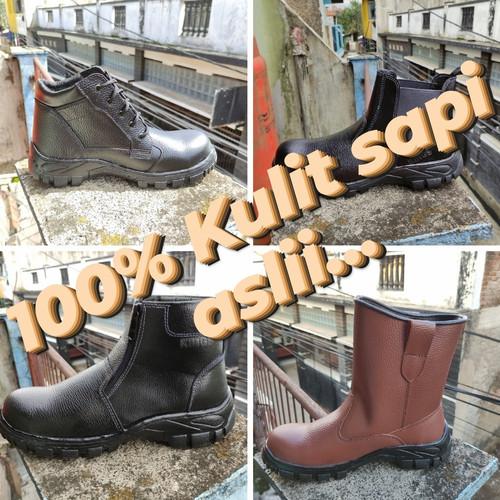 Foto Produk Sepatu Safety Kings Kulit asli 100% - 706, 37 dari Toko Sepatu Safety Jogja