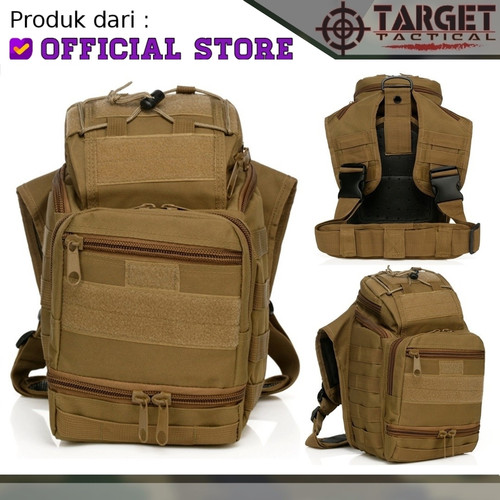 Foto Produk Tas Slempang Tactical 803 Sabado Army Gunung Hiking Import Original - Krem dari Tactical Indonesia