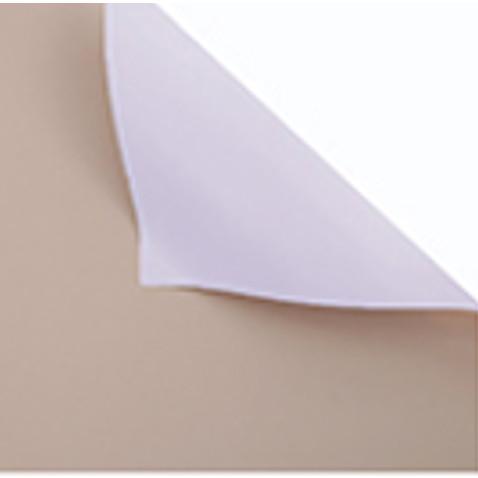 Foto Produk Kertas Bunga Wrapping Paper (LEMBARAN, size 60x60cm) Bicolor Cello - 153 MILKTEAGREY dari Wood chip store