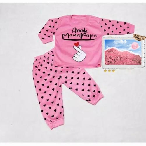 Foto Produk COD SETELAN BAJU TIDUR BAYI/BALITA/PIYAMA BAYI BAGUS USIA 0-12 BLN - pink dari Baju Tidur Bayi & Anak Libbabyshop