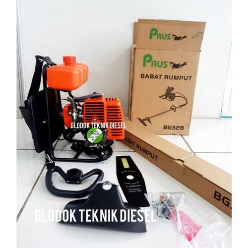 Foto Produk NLG Brush Cutter Machine ( Mesin Potong Rumput Gendong ) TBC 30 BP dari Glodok Diesel