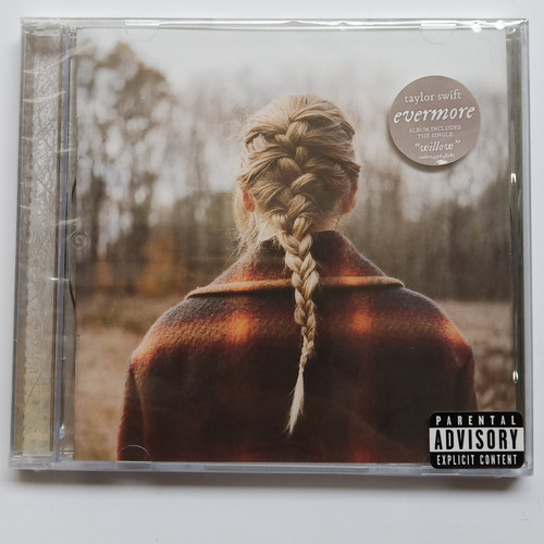 Foto Produk CD Taylor Swift Album Evermore Deluxe edition dari Creative Disc