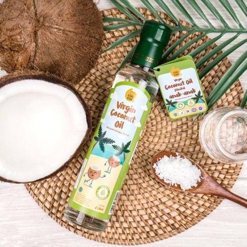 Foto Produk CONCOS VCO Virgin Coconut Oil Minyak Kelapa Murni Untuk Anak Dan Bayi dari bobo baby shop