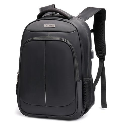 Foto Produk Navy Club Tas Ransel Laptop HBA USB Port Up to 15.6inch-Free Bag Cover - Hitam dari Navy Club Official Store