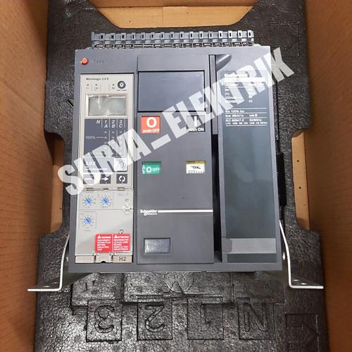 Foto Produk Schneider ACB MasterPact NT10H2 NT10 H2 NT 10 H2 1000A 1000 A 3Pole 3P dari SURYA-ELEKTRIK