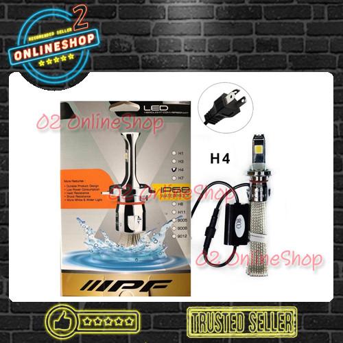 Foto Produk Lampu Mobil LED IPF H4 Headlamp IPF H4 6000K IPF Lampu COB dari O2 OnlineShop