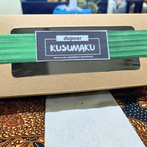 Foto Produk (ISI 25PCS) Brownies Paper ukuran M Kraft Laminasi 22X10x5// dus bread dari Kusumaku_Store