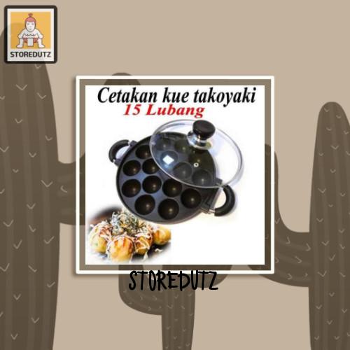 Foto Produk cetakan takoyaki 15 lubang dari StoreDutz