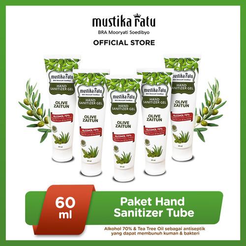 Foto Produk [Mustika Ratu] Paket Hand Sanitizer Tube 60ml Isi 5 dari Mustika Ratu