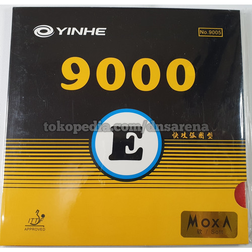 Foto Produk Yinhe 9000 E - Rubber Karet Pinpong Yinhe - Hitam dari DnS Arena