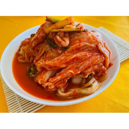 Foto Produk Kimchi Fresh Homemade 1 Kg - Tdk Bubble Wrap, Potong, Normal dari Kimchi-id