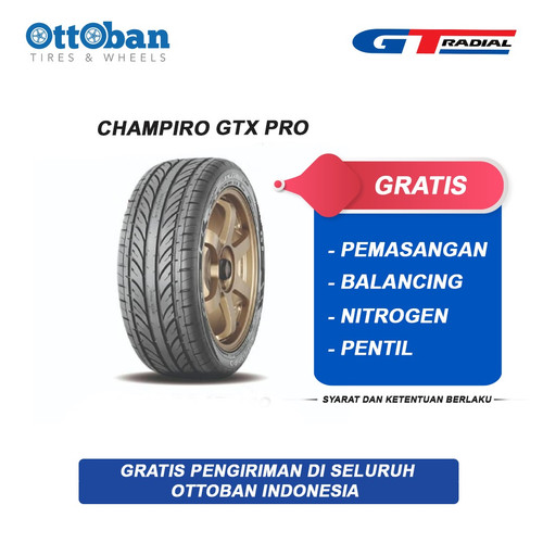 Foto Produk Ban GT Radial GTX Pro ukuran 195/50 R15 dari ottoban indonesia