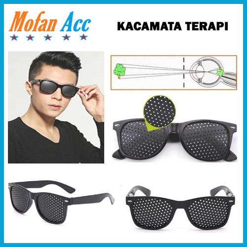 Foto Produk Kacamata Terapi Pinhole Glasses/ Kacamata Kesehatan dari mofan accesories
